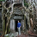 Tony at Ta Prohm