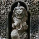 Stone Carving in Ubud Palace