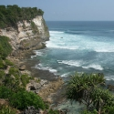 Cliffs in Uluwatu
