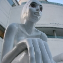 Androgynous Statue MBK