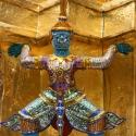 Wat Phra Kaew Statues