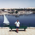 Thomas in Aswan