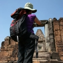 Lisa at Pre Rup
