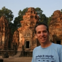 Tony at Preah Ko