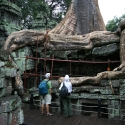 Thomas and Beverly at Ta Prohm