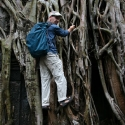 Thomas at Ta Prohm