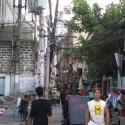 Strasse in Manila