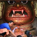 Kathmandu Bhairava Mask