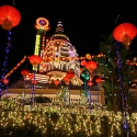 Penang's Kek Lok Si at New Year