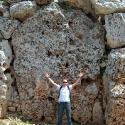 Ggantija's Massive Walls