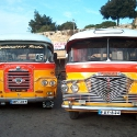 Malta's old-fashioned buses