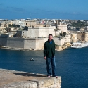 Tony in Valletta