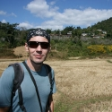 Thomas Walking to Inle Lake