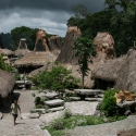 Tarung village in Sumba, Indonesia