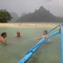 Snake Island in Rain