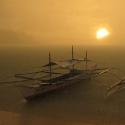 Port Barton Rainy Sunset