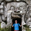 Tony at Goa Gajah