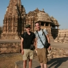 TnT Visiting Khajuraho Temples in India