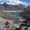 Tony Trekking to Renjo La Pass in Nepal