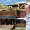Tony at Tagong Temple in Sichuan, China