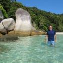 Tony in Pulau Perhentian