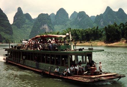 Arriving in Yangshuo in 1987