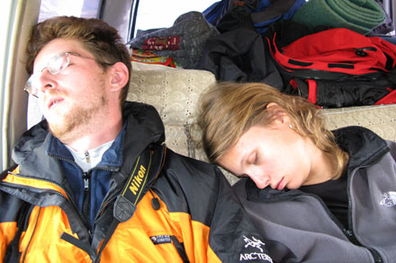 Dimitri and Irina Exhausted