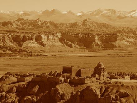 Guge Kingdom Landscape