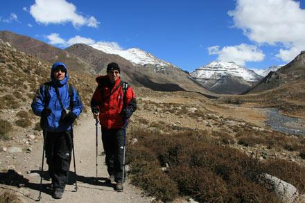 Thomas and Tony Toward the End of the Mt. Kailash Kora