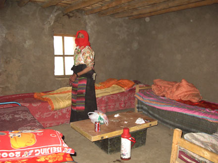 Our Room in the Zutul Puk Monastery, Mt. Kailash