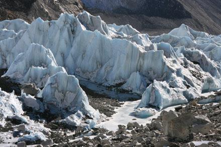 Khumbu Glacier Close-Up