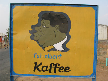 Fat Albert Sign