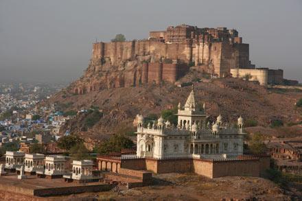 Jaswant Thada Cenotaph and Meherangarh Fort, Jodhpur