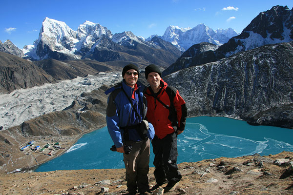 TnT in Gokyo Valley, Nepal