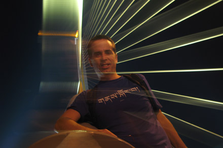 Tony on Rama VIII Bridge