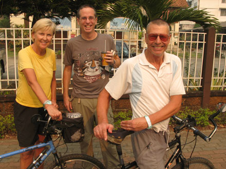 Sally, Tony and Peter in Chiang Rai