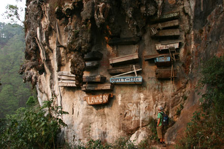 Sugong Coffins near Sagada