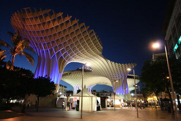 The Metropol Parasol of Seville