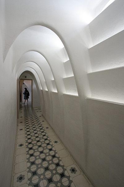Casa Batlló attic