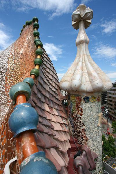 Casa Batlló roof