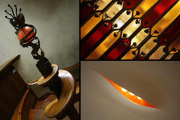 Gaudí detail work