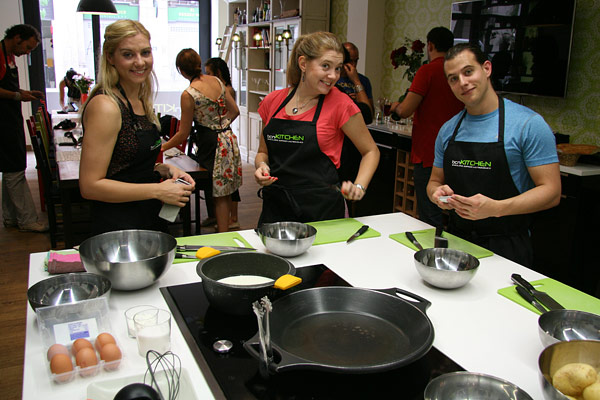 Cooking class at bcnKITCHEN