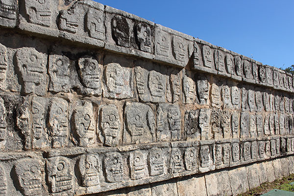 Chichen Itza carvings