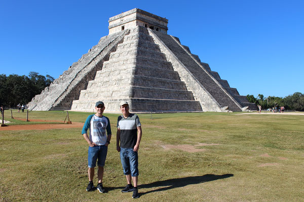 TnT in Chichen Itza
