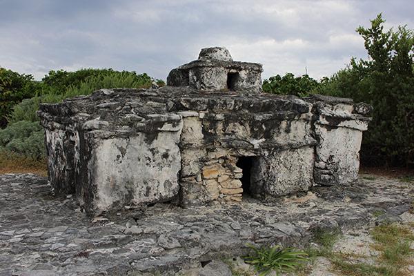 Mayan ruins at Punta Sur