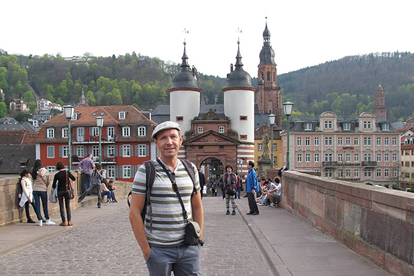 Thomas in Heidelberg