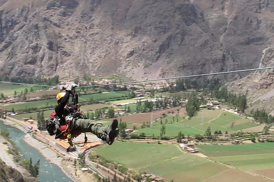 Skylodge Adventure Suites: Ziplining in the Sacred Valley