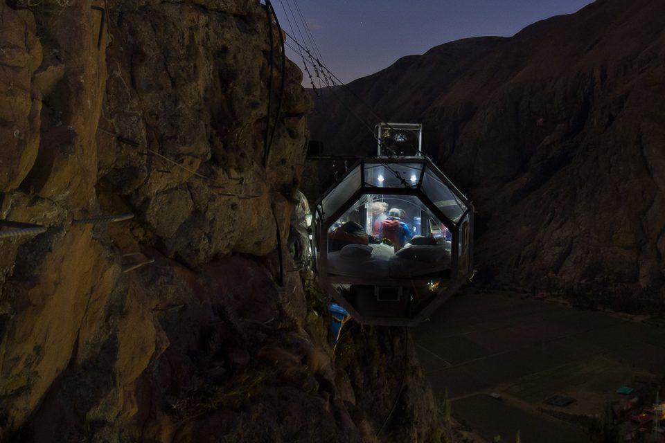 Skylodge Adventure Suites: Night in the capsule suite