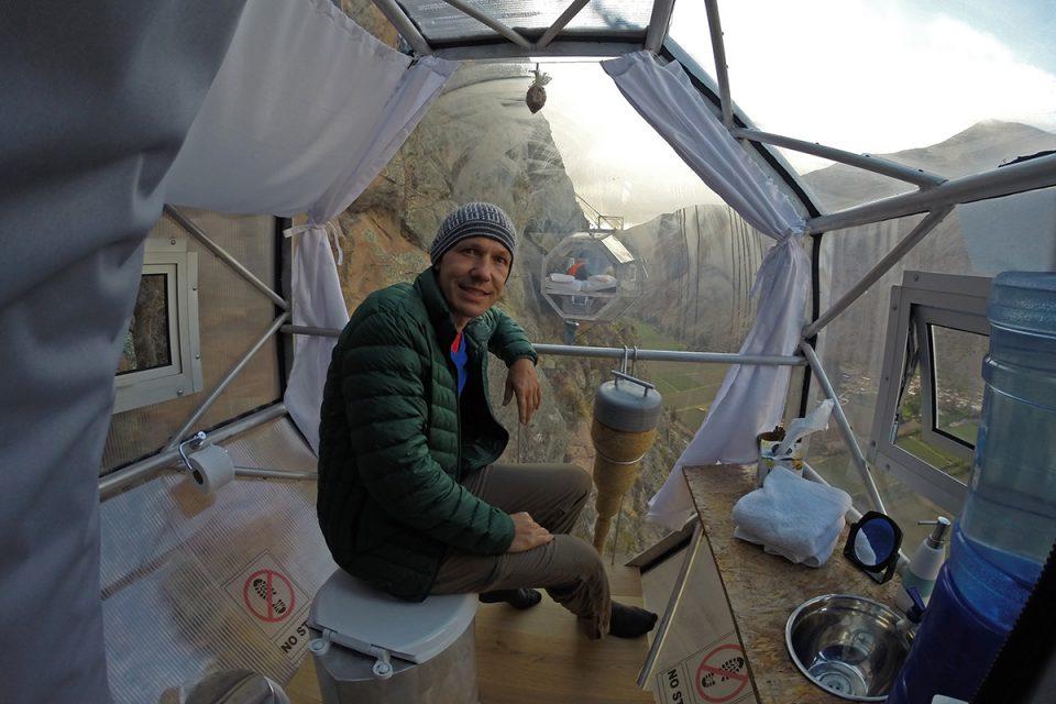 Skylodge Adventure Suites bathroom