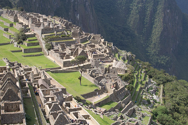 Overview of Machu Picchu